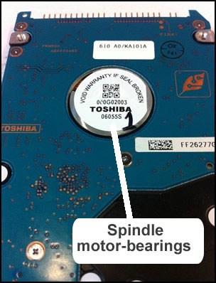 Toshiba Hard Drive Recovery - Crashed Hard Disk - DTI Data