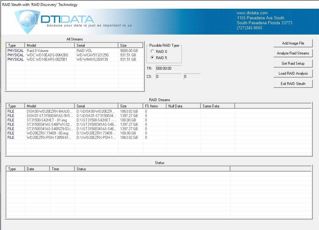 Raid Discovery Software Free Raid 5 Software Diagnostic