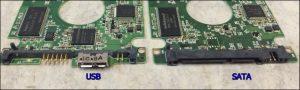 USB and SATA PCB